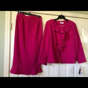 2 piece woman suit